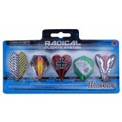 Lote Plumas Harrows Radical Flights