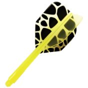 Plumas CONDOR Shape Giraffe Larga 33,5 mm 3 Uds.