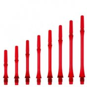 Cañas Fit Shaft Gear Slim Fija Tranparente Rojo Talla 7