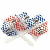 Plumas CONDOR Checkered Flag 33.5mm 3 Uds.
