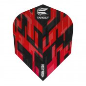 Target Darts Flights Sierra Vision Ultra Red Nº6