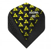 Target Darts Agora Ghost + Yellow No2