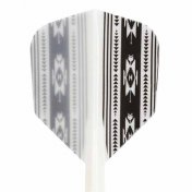 Condor Flights Native America White Shape Media 27.5mm 3 Uds.
