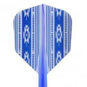 Condor Flights Native America Blue Shape Media 27.5mm 3 Uds.