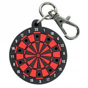 Llavero Trinidad Dartboard Shape Tip Holder Red