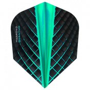 Harrows Darts Flights Quantum Jade Standard