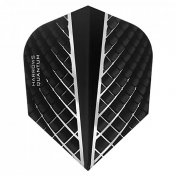 Harrows Darts Flights Quantum Black Standard
