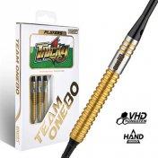 Puntas harrows darts dimplex negra 27mm 2ba 1000 unid