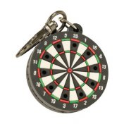Llavero Trinidad Dartboard Shape Tip Holder Black