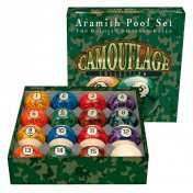 Juego Bolas Aramith Camouflege Collection 57.2mm