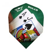 Bulls Darts Powerflite Black Jack Standard