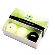 Juego Bolas Carom Cyclop Standard Ball Set 61.5mm 1 Set 3 Bolas