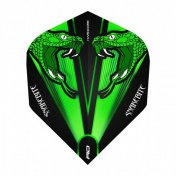 Flights Red Dragon Green Snakebite Trans. Stan. 1 Set 3 Unit