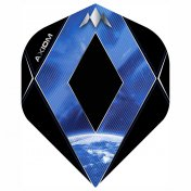 Mission Flights Darts Axiom Stdandard Blue