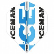 Flights Red Dragon Hardcore Gerwyn Price - White & Blue Logo