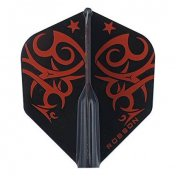 Pluma Bulls Darts Robson Estandar Tribe Red