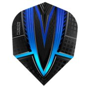 Harrows Darts Flights Fusion Blue Aqua  - 2
