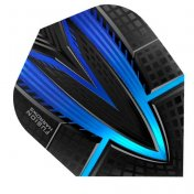 Harrows Darts Flights Fusion Blue Aqua  - 3