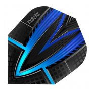 Harrows Darts Flights Fusion Blue Aqua  - 1