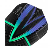 Harrows Darts Flights Fusion Blue Greeen