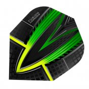 Harrows Darts Flights Fusion Green Yellow