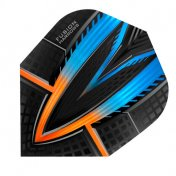 Harrows Darts Flights Fusion Aqua Orange