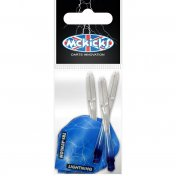 Sistema Cañas + Pluma Mckicks Thunder & Lightning Blue Flight Shaft Set - 2