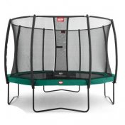 Cama elástica Berg Champion 430 Green + red deluxe