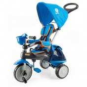 Triciclo a pedales Qplay Ranger Azul
