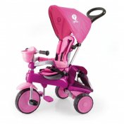 Triciclo a pedales Qplay Ranger Rosa