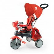 Triciclo a pedales Qplay Ranger Rojo