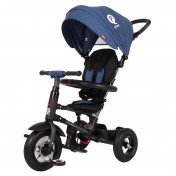 Triciclo a pedales QPlay Rito Air Azul